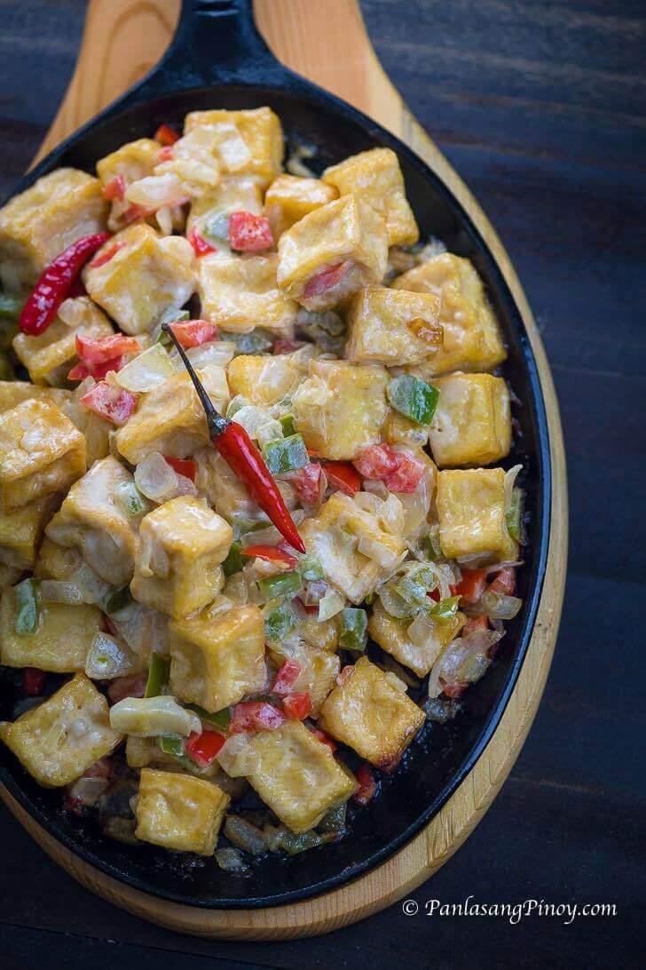 Sizzling Tofu Recipe Panlasang Pinoy