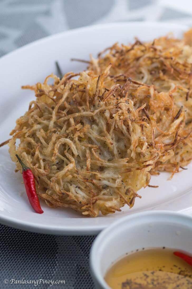 Ukoy Dulong Recipe