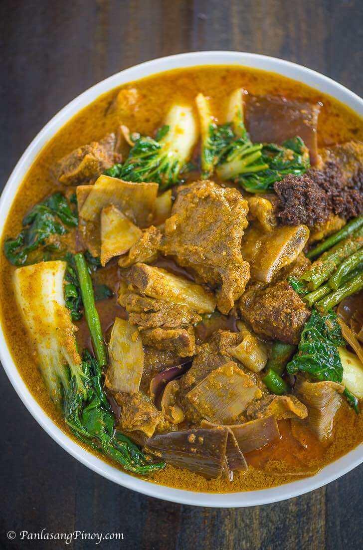 Beef Short Rib Kare Kare Recipe Panlasang Pinoy