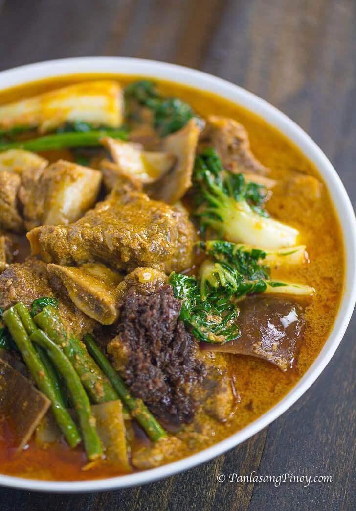 Beef Short Rib Kare Kare Recipe
