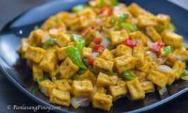 Cripsy tofu sisig