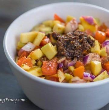 Ensaladang Mangga Green Mango Salad