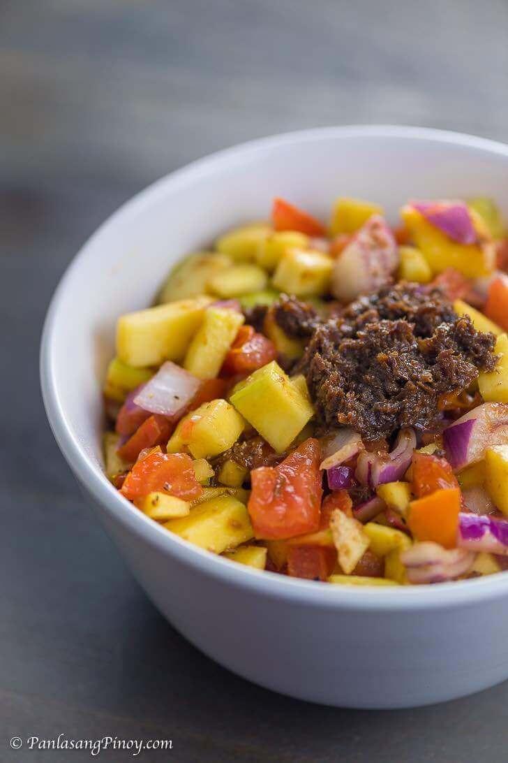 Ensaladang Mangga Recipe