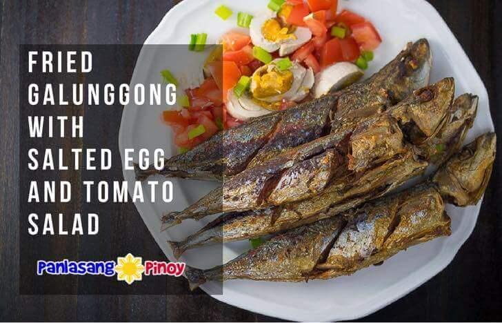 Fried Galunggong