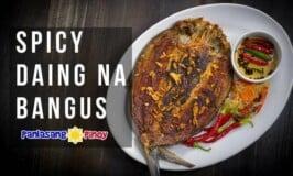 Spicy Daing na Bangus