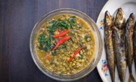 Spicy Monggo with Tinapa