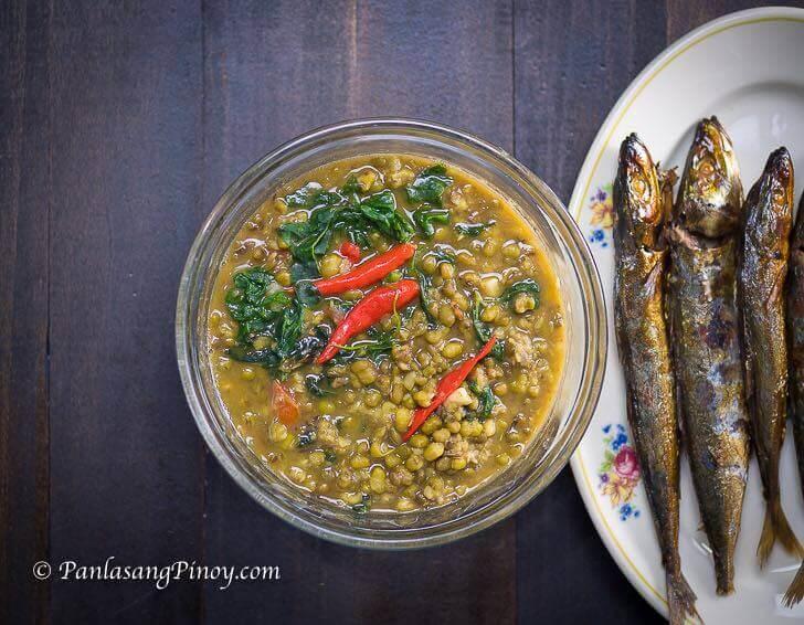 Spicy Monggo with Tinapa Recipe