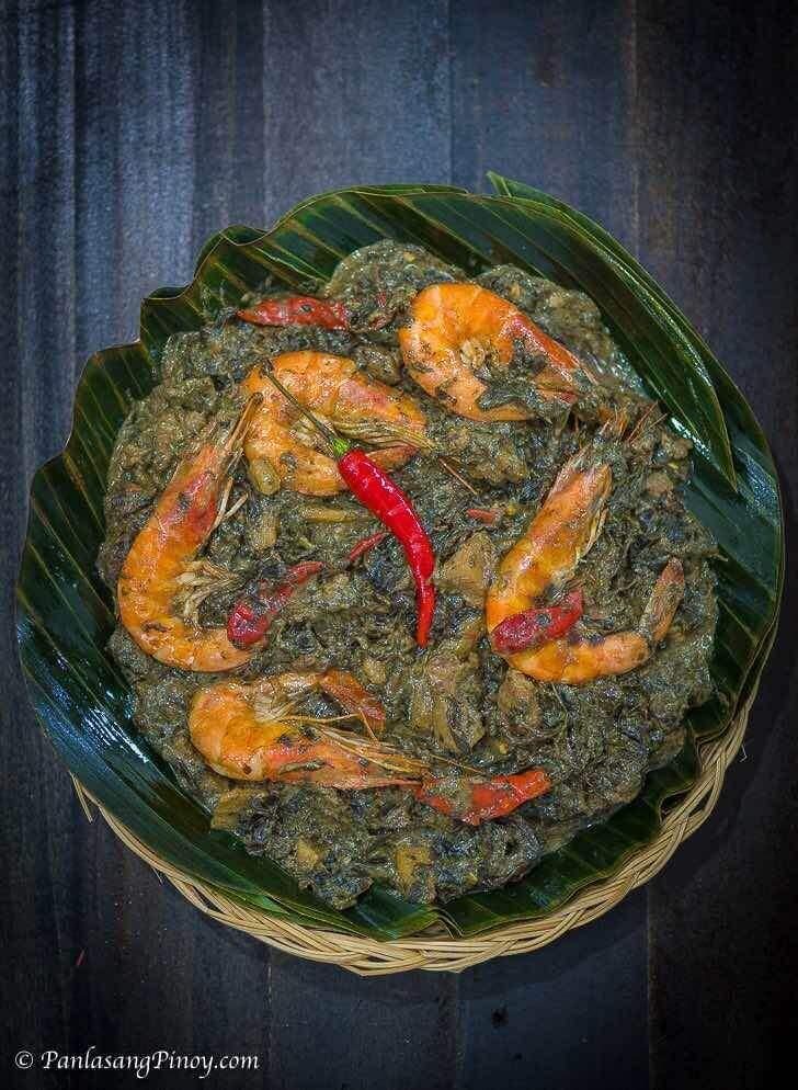 Anghang Sarap Laing Recipe
