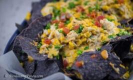 Cheesy Crab and Corn Nachos Recipe
