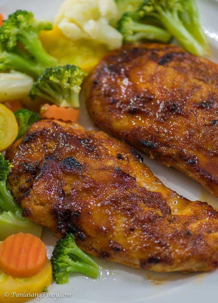 Healthy Spicy Honey Chicken Recipe_
