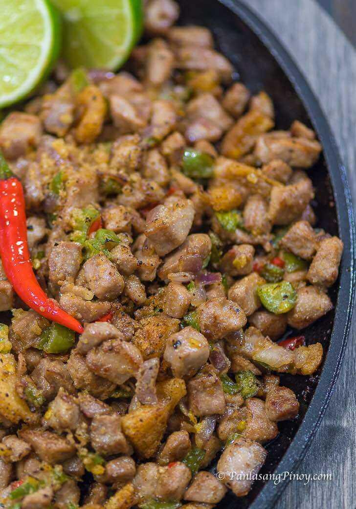 Sizzling Tuna Sisig Recipe Panlasang Pinoy