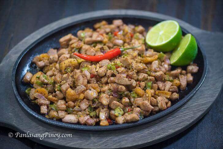 Sizzling Tuna Sisig Recipe