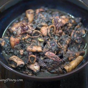 Tastylicious Adobong Pusit