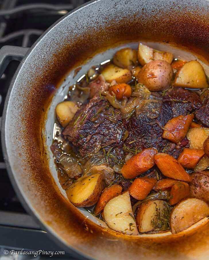Beef Pot Roast Panlasang Pinoy