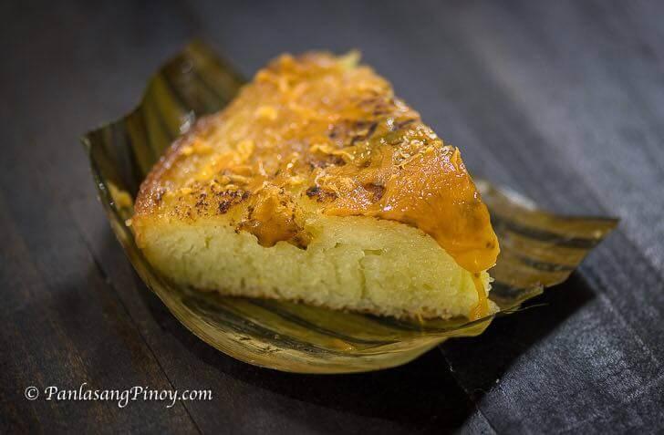 Bibingkang Galapong recipe