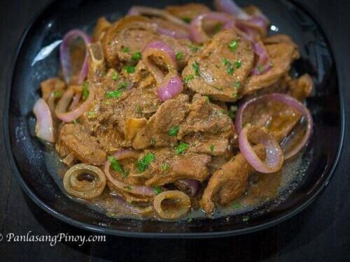 pork chop steak ala bistek recipe Pork Chop Steak ala Bistek