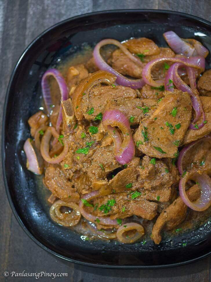 pork chop steak ala bistek recipe Pork Chop Steak ala Bistek - Panlasang Pinoy
