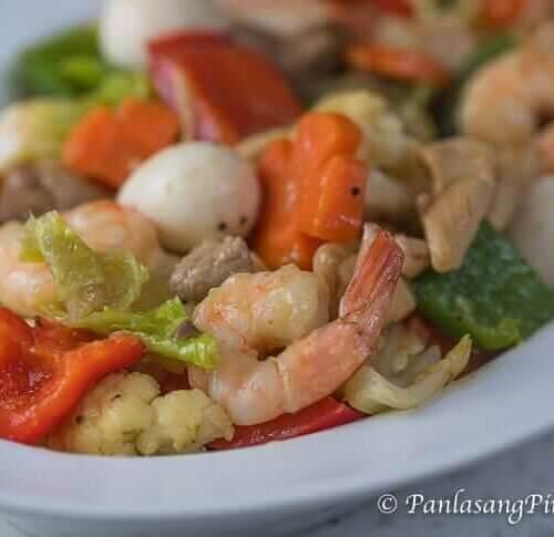shrimp chop suey recipe panlasang pinoy Super Special Chopsuey