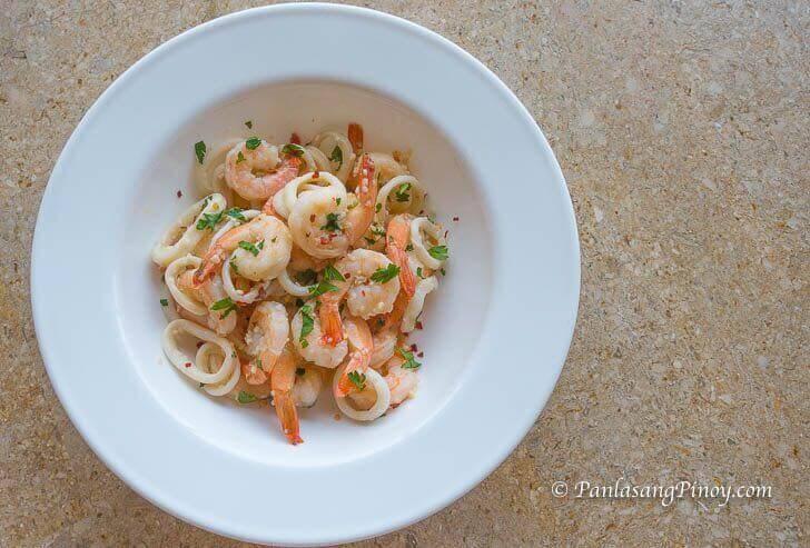 Butter Garlic Shrimp Recipe