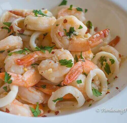 Butter Garlic Shrimp And Squid Panlasang Pinoy