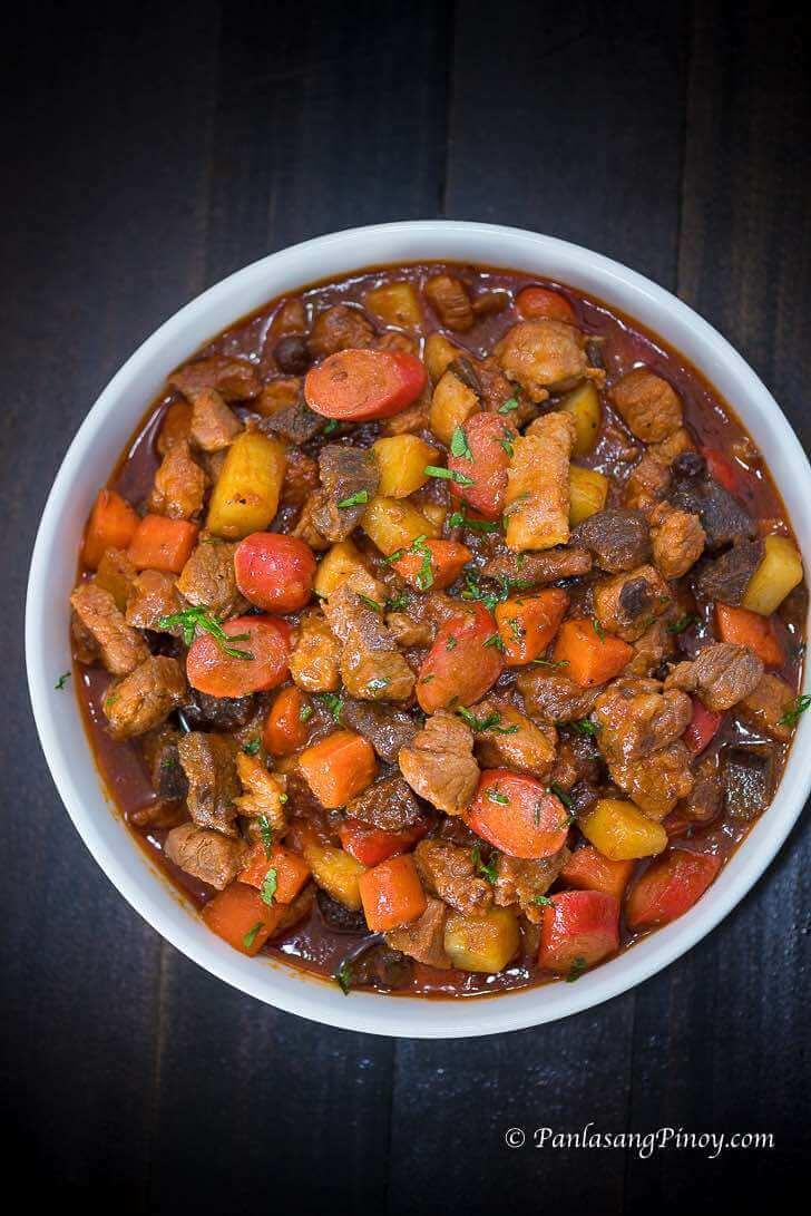 Filipino Pork Menudo Recipe