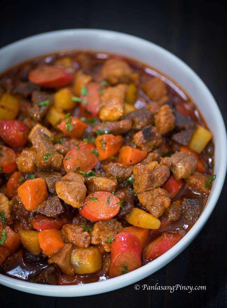 Pinoy Pork Menudo Recipe