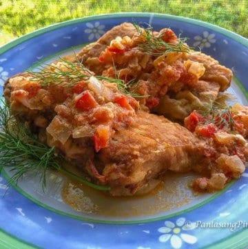 Fried Mahi Mahi Fish Sarciado