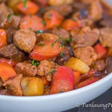 Filipino Pork Menudo