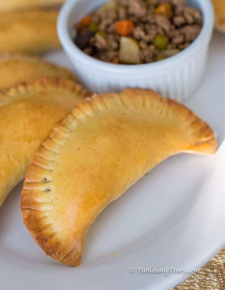 Baked Pork Empanada Recipe