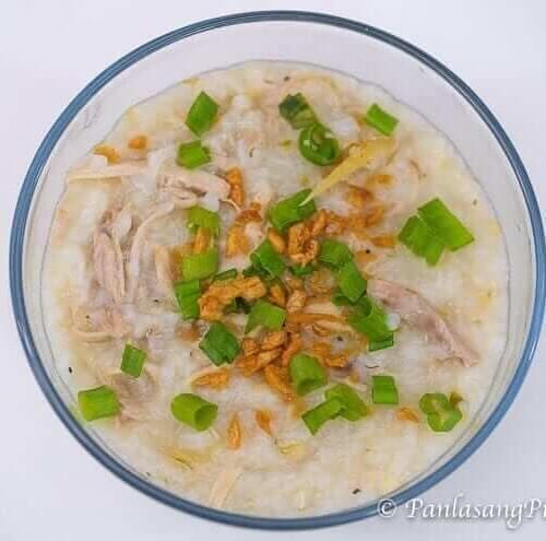 Chicken Congee Recipe Panlasang Pinoy