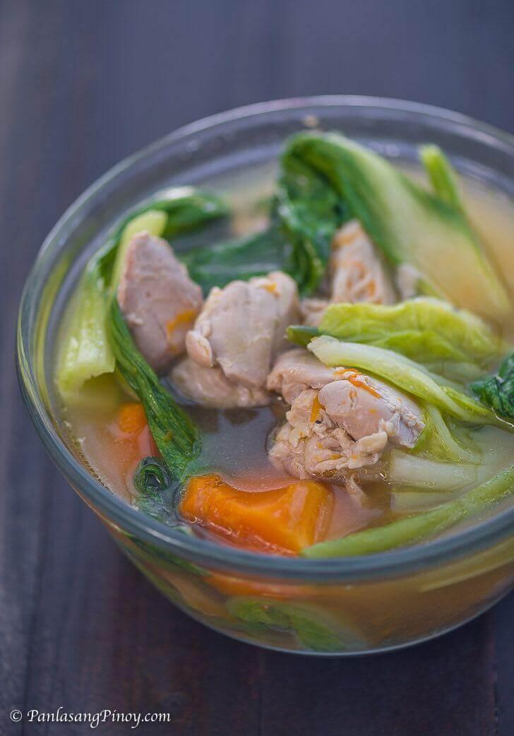 Chicken Nilaga with Kalabasa Recipe Panlasang Pinoy