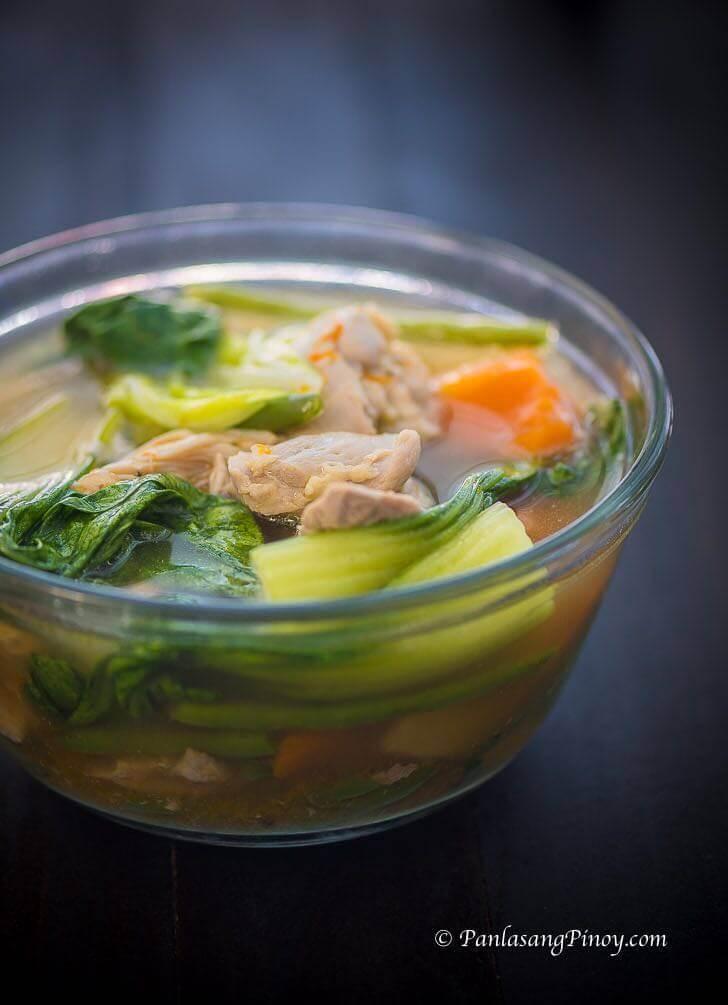 Chicken Nilaga with Kalabasa Recipe