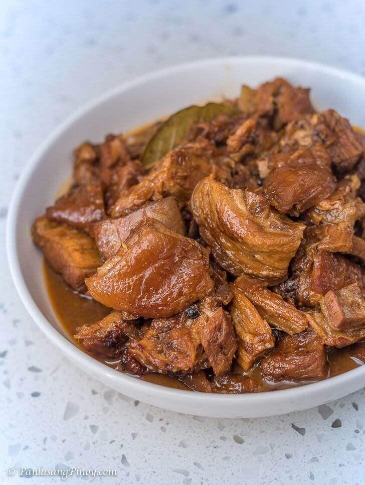 Lechon Belly Pork Adobo Recipe Panlasang Pinoy
