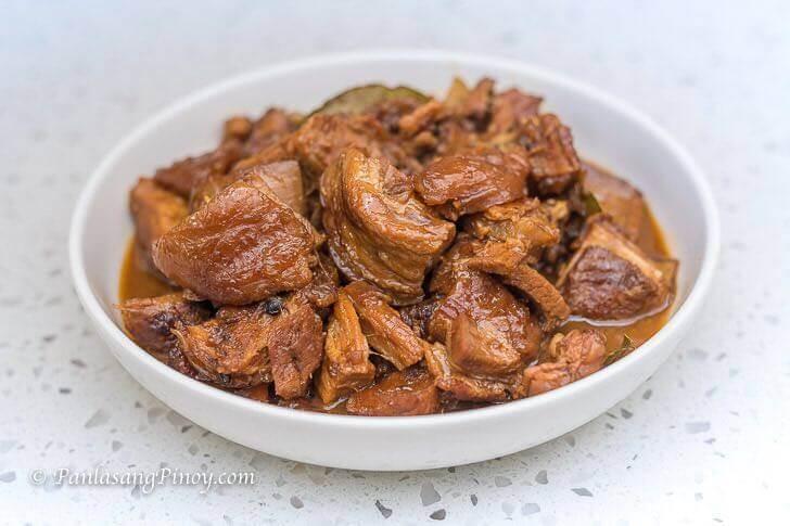 Lechon Belly Pork Adobo Recipe