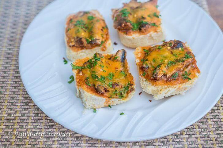 Pandesal and Sardines Pizza Panlasang Pinoy
