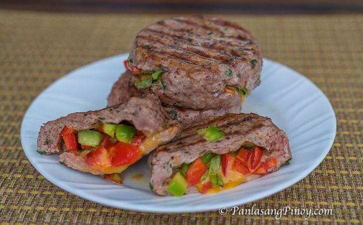 Stuffed Burger Patties Recipe
