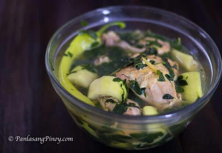 Tinolang Manok sa Upo Recipe Panlasang Pinoy