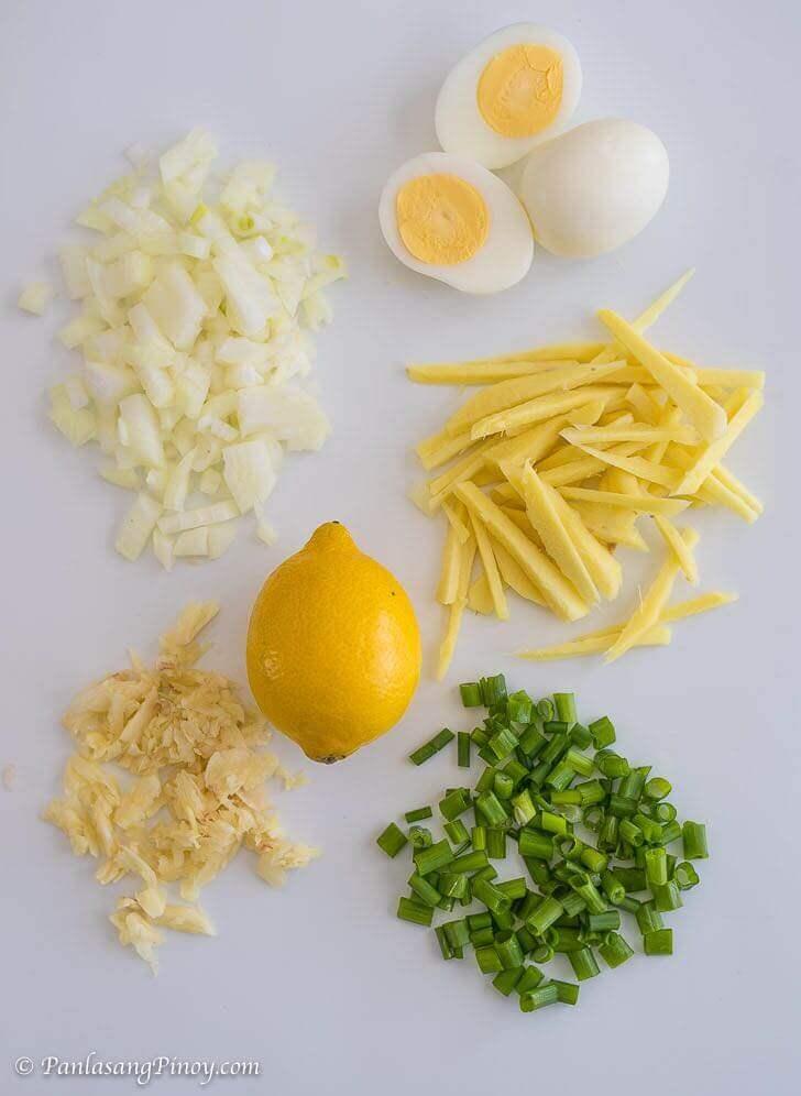 arroz caldo ingredients