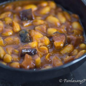 homemade pork and beans recipe panlasang pinoy
