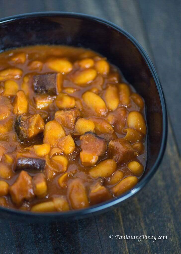 homemade pork and beans recipe