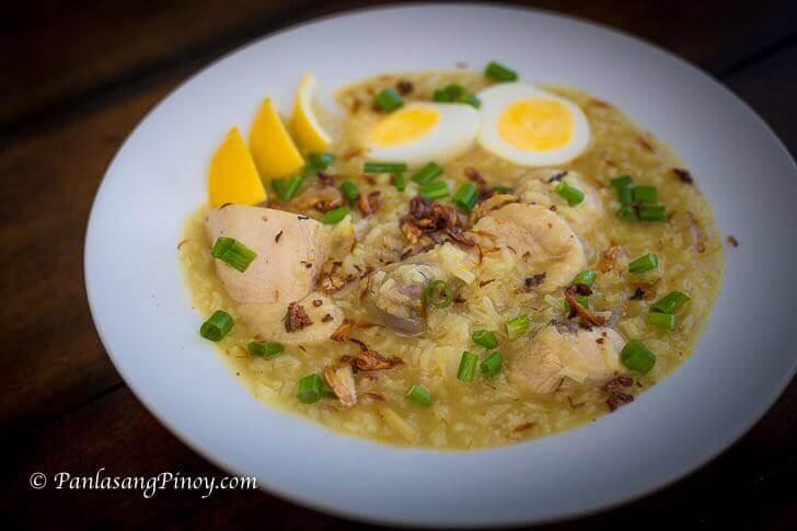 how to cook filipino chicken arroz caldo panlasang pinoy