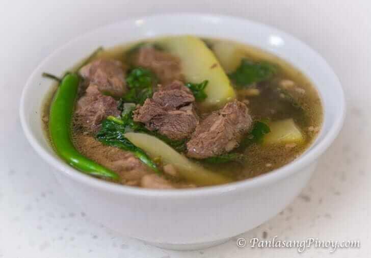 Beef Tinola Recipe Panlasang Pinoy