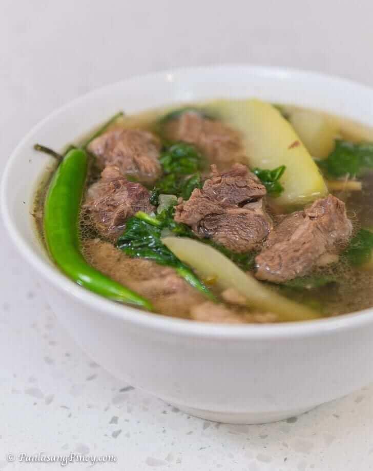 Beef Tinola Recipe