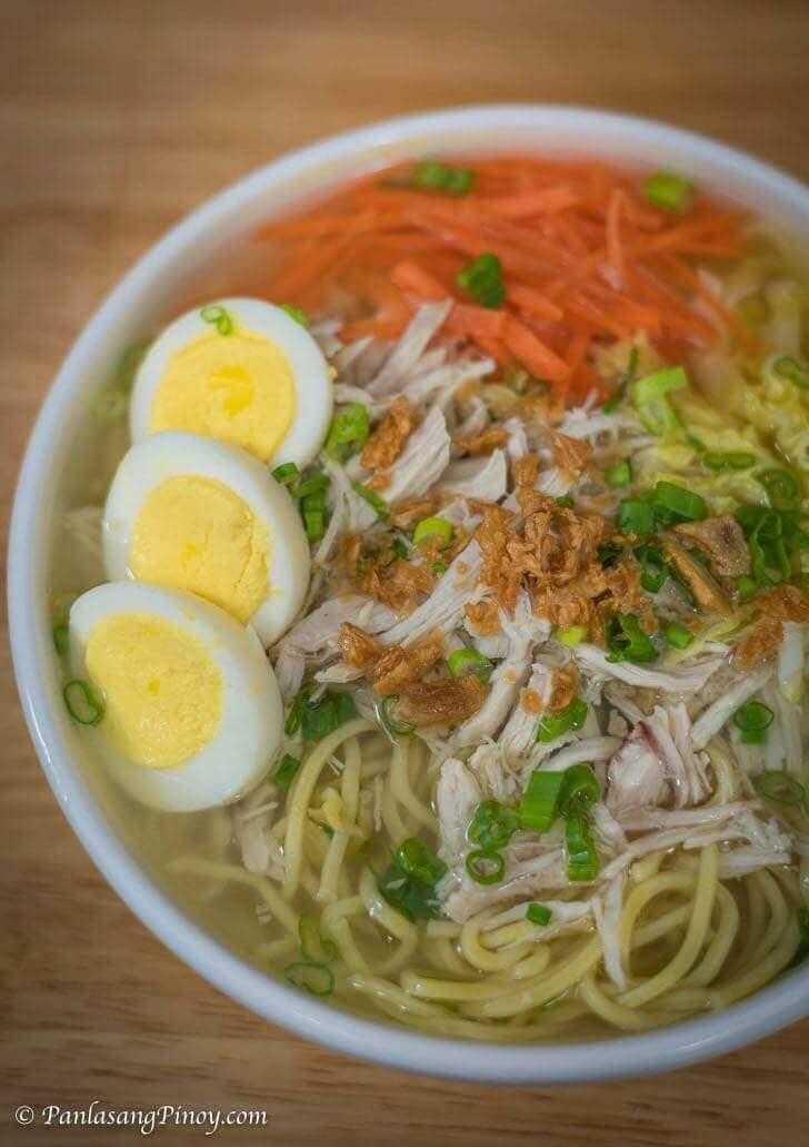 Chicken Mami Recipe Panlasang Pinoy