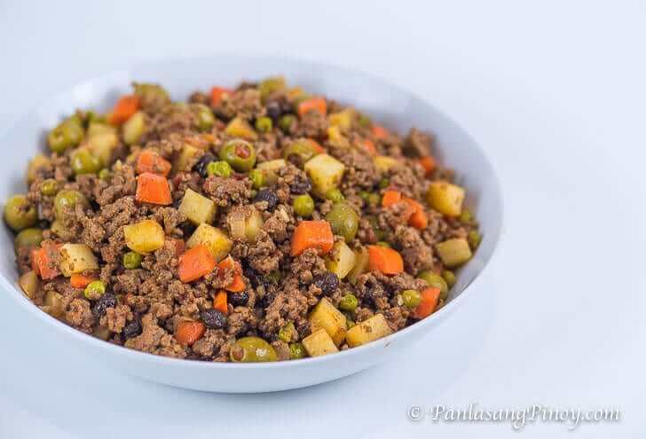 Picadillo Recipe - Panlasang Pinoy