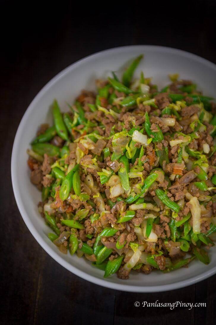 Ground Beef With Cabbage Filipino Recipe