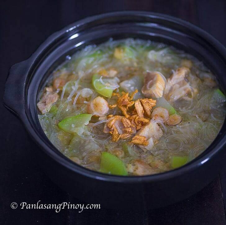 Sotanghon at Upo Soup Recipe Panlasang Pinoy