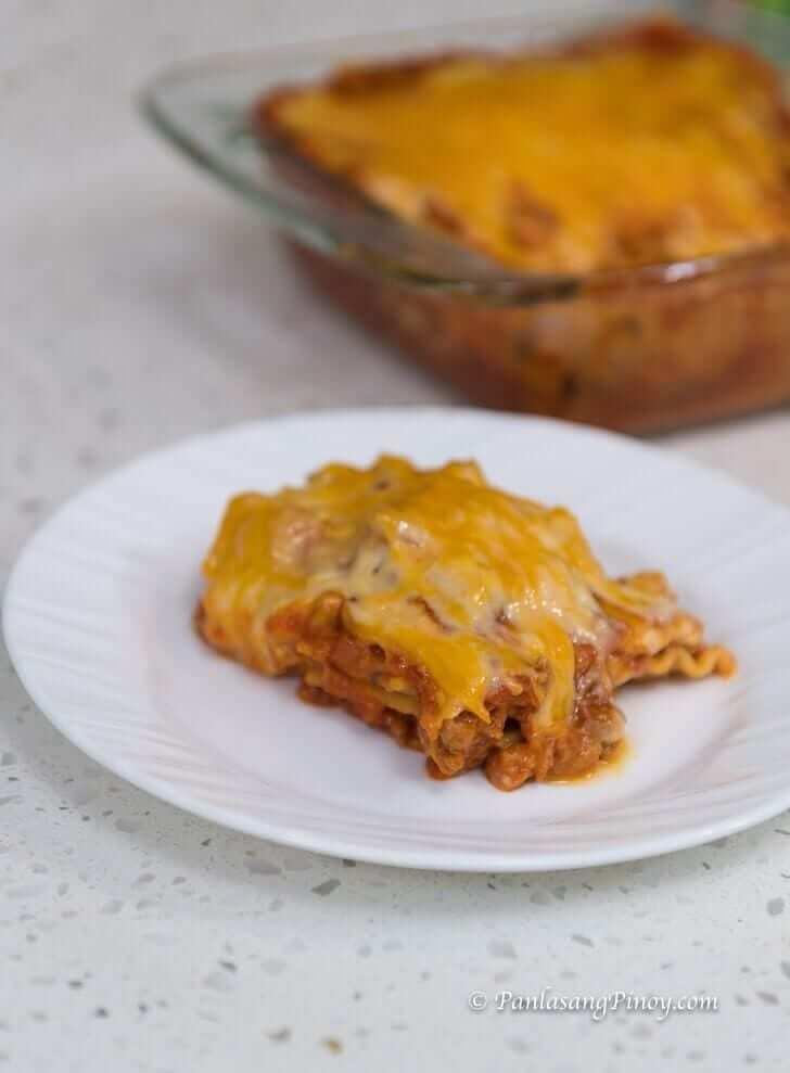 No Bake Lasagna Pinoy Style Panlasang Pinoy