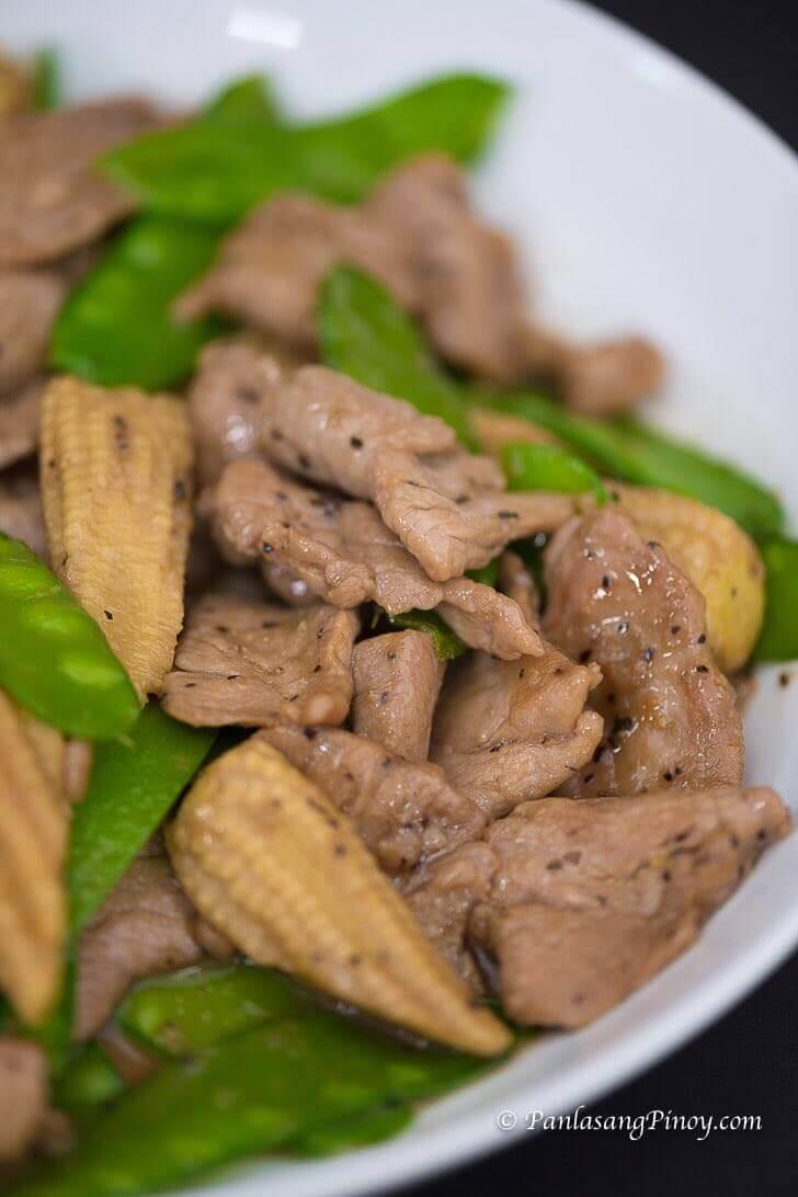 15 Minute Pork Stir Fry Pinoy