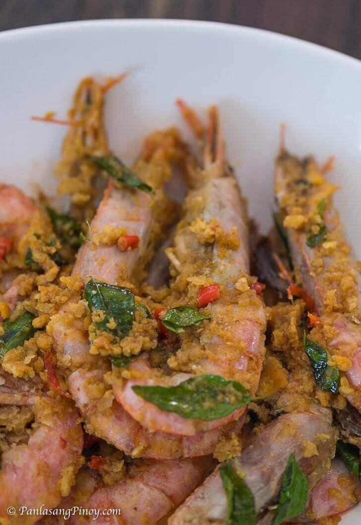 Salted Egg Prawn Recipe Panlasang Pinoy
